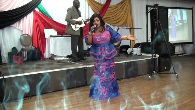 Sekouba Kandia Kouyate. Part 2 – Doussougbe Kouyate Live Concert in Dallas, Texas. By OLIAB 214-938-2418