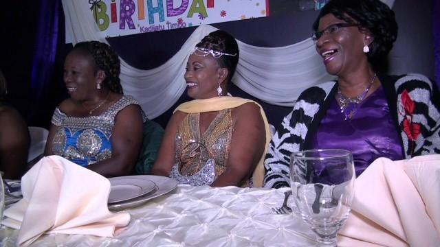 Part 2 – Sierra Leone: Kadijatu Timbo 60 years Birthday in Houston Texas by 214-938-2418