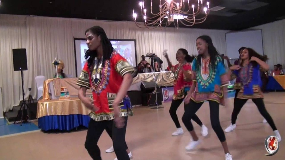 DFW Group Dance at Graduation Party by Oliab Video Production 214-938-2418