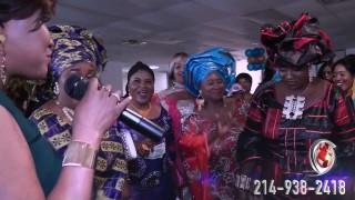 Cheka Diabate & Marraine Mme Kosiah – Matex 10 Years Anniversary.