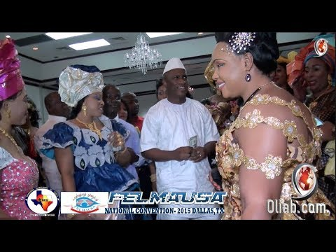 15 ans M'Balou Kante – Alpha Balde (President de l'Association des Guinéens de Dallas, Texas)
